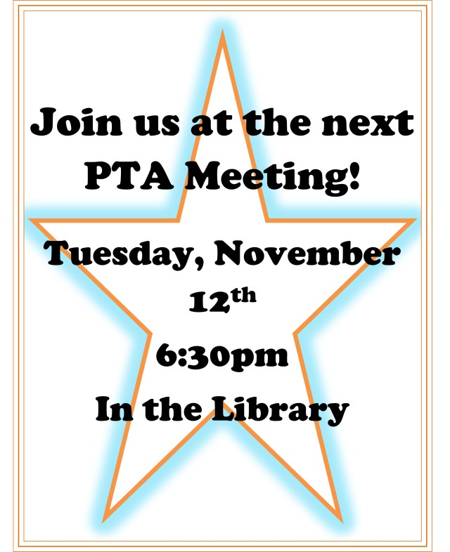 3 Reasons why you should attend PTA meetings.